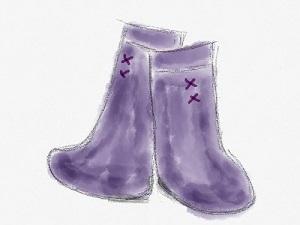 台風に長靴.jpg